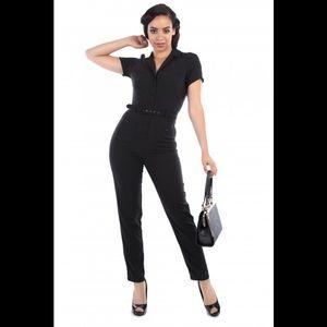 Collectif Carrie Jumpsuit (Size: US 12, UK 16)